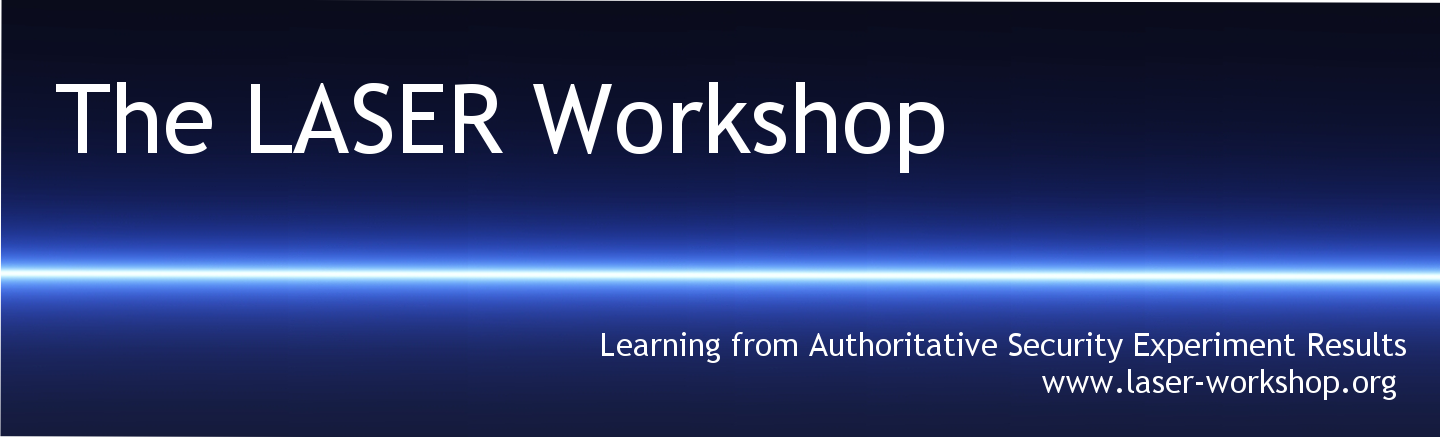 The 2017 LASER Workshop: Learning from Authoritative Security Experiment Results
